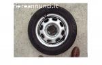 1 Gomma Michelin 175-70-13 82T. Usura gomma:  rimasto 5 mm.