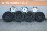 4 cerchi per Fiat 15x6J + gomme M+S 195 65 R15 91H
