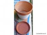 VASO terra cotta e VASO ceramica.