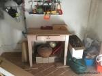 Tavolo in legno massello da lavoro