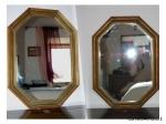 Specchio esagonale in stile
