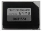 Scheda Di Memoria  Multimedia MMC 64 MB
