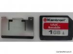 MEMORIA MMC CARD DA 1GB + ADATTATORE SD