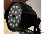 Coppia Par Led 18x18watt WASH/ZOOM