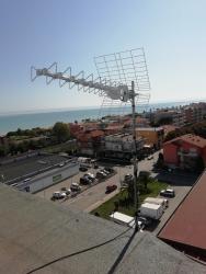 Antennista con strumentazione S2 T2