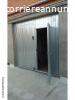 Basculante H. 260 X L. 285 cm in acciaio zincato