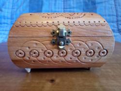 Bauletto in legno per Gioielli, oggetti di Valore