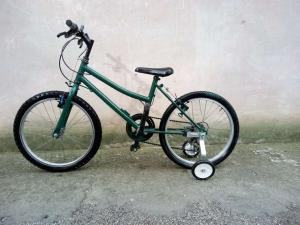 bicicletta bambino ruote da 20 pollici in buone cond.