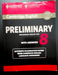 Cambridge preliminary english test. Student's book.