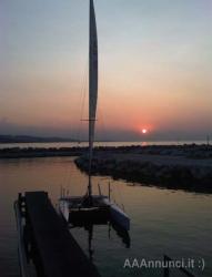 catamarano Bimm mare classe A