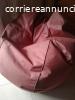 Cedesi poltrona pouff di stoffa
