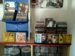 Collezione di CD e TAPE da Discoteca
