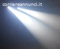 Teste Mobili LED 90w con Prisma, Focus, 2 Ruote Gobo