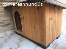 Cuccia cane tetto apribile