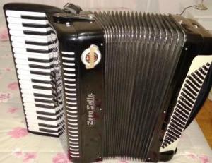 fisarmonica professionale Zerosette di Castelfidardo 120 bas