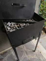 Fornacetta  in ferro a carbonella