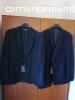 coppia di giacche blu uomo pura lana