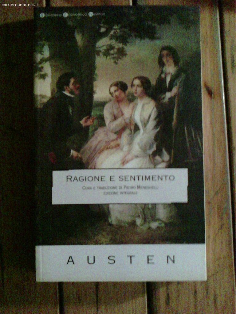 Annunci - Libri - Jane Austen - Ragione e sentimento