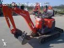 Mini escavatore Kubota U10-3