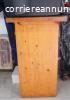 MOBILE porta TV e VCR 80x47 cm, h76 cm.