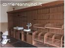 mobili tipo supermercato con frigo verticali e a pozzetto