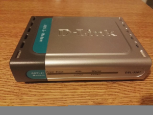 Modem router Adsl2+ D-Link Dsl-320T