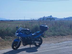 Moto Kawasaki 750 4 cilindri.