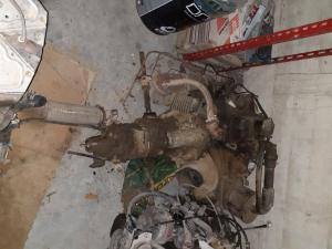 motore e cambio fiat 500f