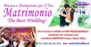 Musica per il Tuo Matrimonio - The Best Wedding!