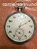 Antico orologio da taschino Omega, in argento,