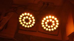 Par Led 24x12w RGBW Piatti Luminosissimi