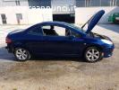 PEUGEOT 307 CC1.6 cc  2006 per RICAMBI