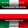Polacco - traduzione dei manuali tecnici dall'italiano