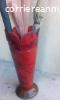 Portaombrelli design anni 50, rosso vivido