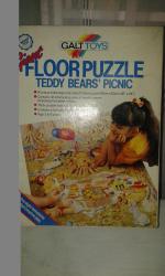 puzzle Teddy Bear
