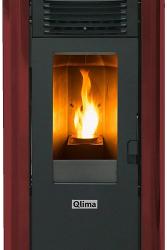 QLIMA Stufa a Pellet Fiorina 74 S-Line Potenza Termica 7.45