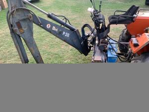 Retroescavatore per trattore