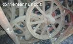 Ruote antiche in ferro