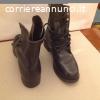 Scarpe militari neri , n 42