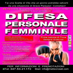 Stage di Difesa Personale Femminile
