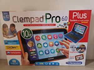 """TABLET CLEMENTONI """"CLEMPAD PRO 6.0 PLUS"""":"""