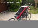 THULE CHARIOT Cougar 1 - Carrozzino bici con accessori