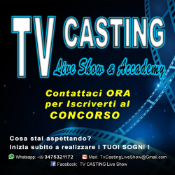 TV CASTING Live Show - Selezione Artisti