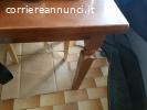 Vendo tavolo legno da 6 più prolunghe  pari al nuovo